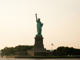 Statue of Liberty at Sunset - 182579382