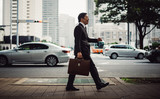Senior business man moments on the streets of Tokyo - 182579709