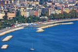 Napoli, particolare del lungomare di via Caracciolo