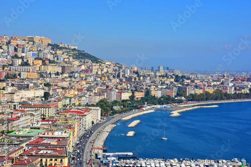 Plagát Napoli, lungomare di via Caracciolo