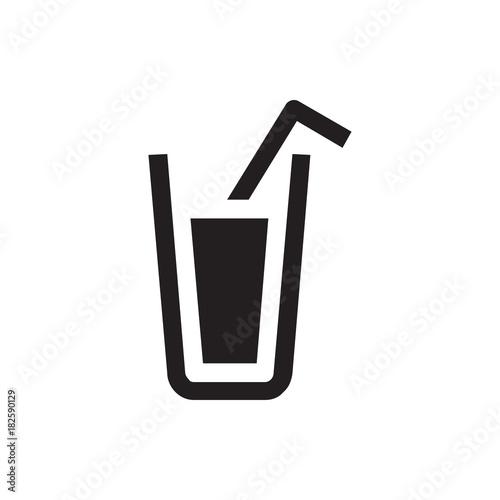 Fototapeta drink icon illustration