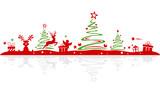 Christmas Silhouette - 182594997