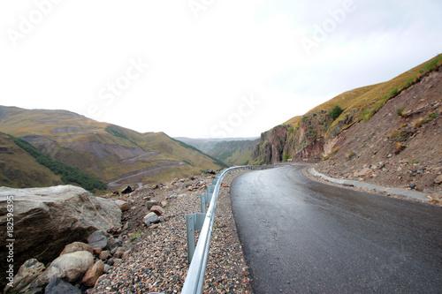 Deurstickers Cappuccino Caucasus mountains