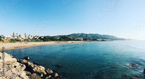 Romana beach in Alcocebre, Castellon, Spain