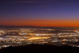 Night falls on San Bernardino county - 182612747