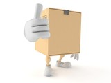 Package character with thumbs up - 182620942