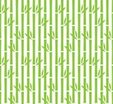 Green bamboo pattern seamless vector background design