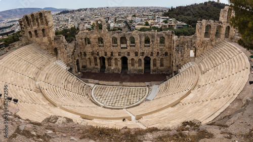 Fotobehang Athene Odeon des Herodes Atticus