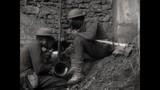 WW1 - Allied soldiers take on gas masks - 182674985