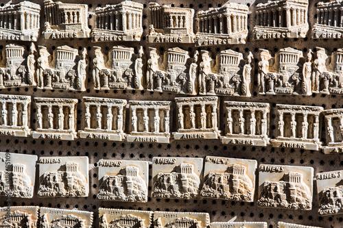 Fotobehang Athene Athens Akropolis - magnet souvenir