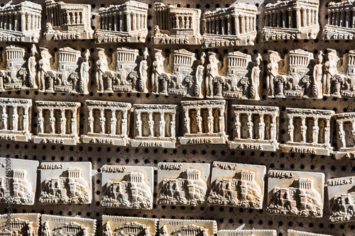Foto op Canvas Athene Athens Akropolis - magnet souvenir