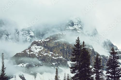Fotobehang Galyna A. Winter mountains