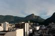 Quadro Rio de Janeiro famous district Ipanema Panorama with the Corcovado mounment