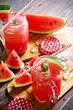 Watermelon juice smoothie healthy dessert