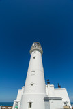Flamborough Head Lighthouse Yorkshire England UK Europe. - 182719141