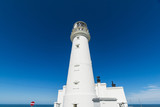 Flamborough Head Lighthouse Yorkshire England UK Europe. - 182719142