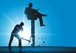 leadership - ambition - pouvoir - entreprise - carrière - leader - convoitise - patron - concept