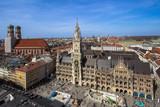 Panorama view of Munich, Germany - 182725594