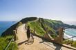 Leinwanddruck Bild - Landschaft auf der Insel Sark, Kanalinseln, Großbritannien