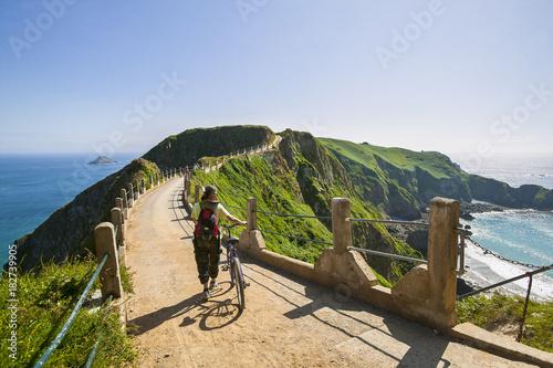 Leinwanddruck Bild Landschaft auf der Insel Sark, Kanalinseln, Großbritannien