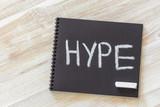 Hype time concept - 182748779