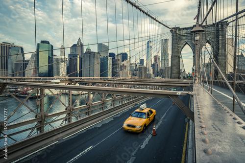 Famous Brooklyn Bridge
