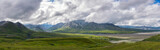 Panoramic view from Eielson Visitor Center in Denali National Park