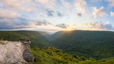 Lindy Point Panorama in Blackwater Falls State Park, West Virginia