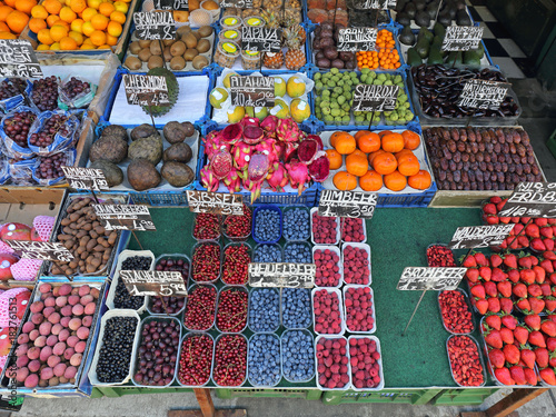 Fruits Market Stall
