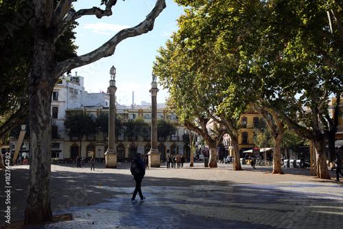 Platz Alameda de Hercules