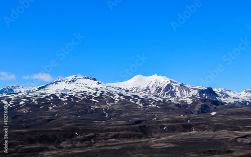 Foto op Plexiglas Grijze traf. Tindfjöll Volcano, South Iceland