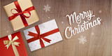 Christmas greeting card. Vector illustration concept for greeting cards, website and mobile banners, marketing material. - 182768759