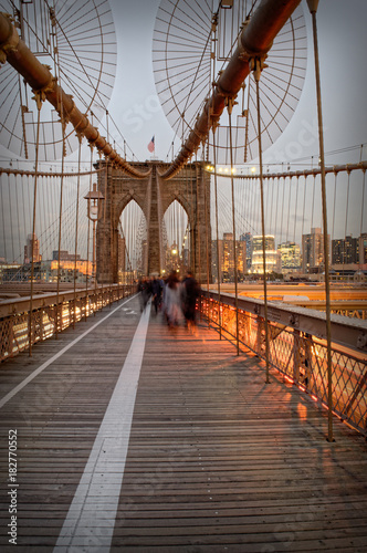 Foto op Aluminium Brooklyn Bridge Brooklyn Bridge.