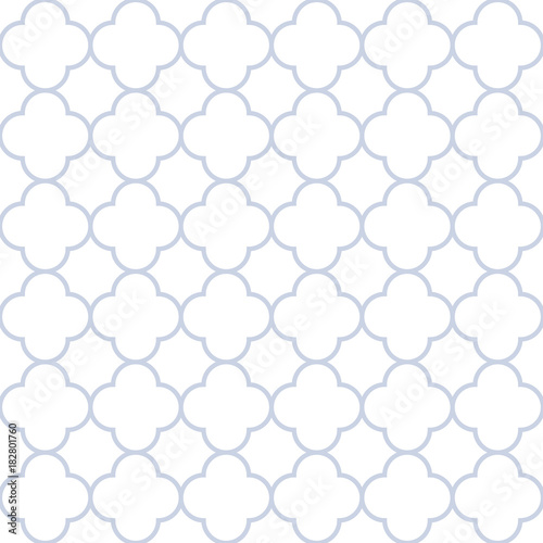 Vector retro geometric seamless pattern. Vintage elegant background. - 182801760
