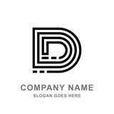 D Letter Logo - 182807927