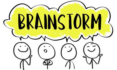 Cartoons brainstorming