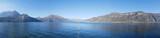 Panorama of Lake Como, Italy - 182821595