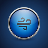 Push Button - Dark Blue Web Icon - 182826376