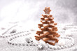 christmas tree with cookies