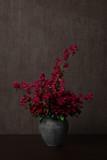 Blumenstrauß mit roten Blumen - 182831309