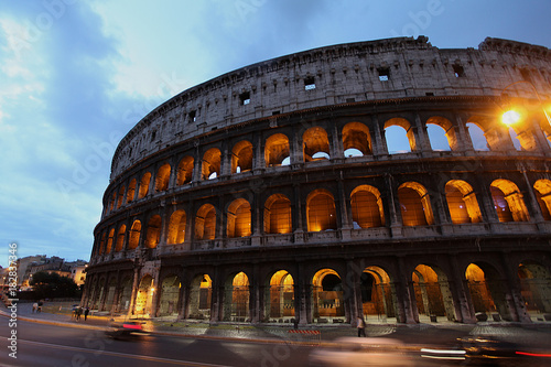 Foto op Canvas Rome Evening in Rome, Italy