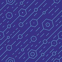 Geometric seamless pattern. © timur84