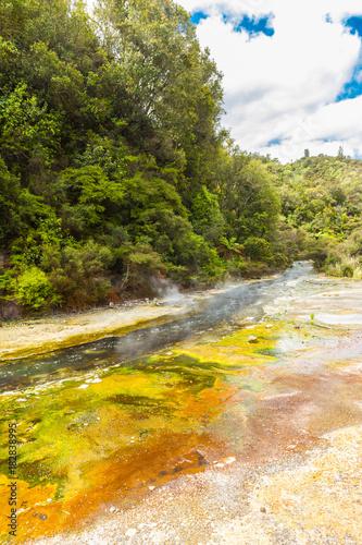 Plexiglas Fyle Geothermal river
