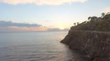 Beautiful coast at sunset - 182840116