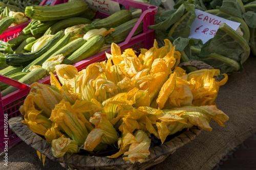 Foto op Canvas Toscane fiori