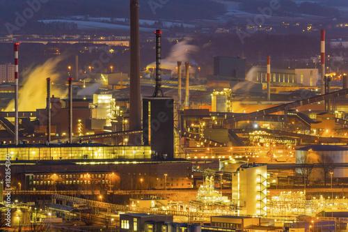 Plexiglas Industrial geb. austria, linz, industrial area