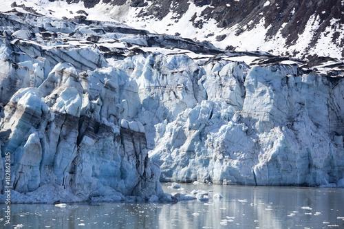 Fotobehang Natuur Glacier Bay Close View