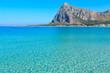 San Vito lo Capo beach, Sicily, Italy