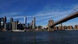 Skyline of New York City from Brooklyn Bridge Park - 182869505
