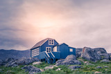 Greenland: inuit house in the north pole - 182871389